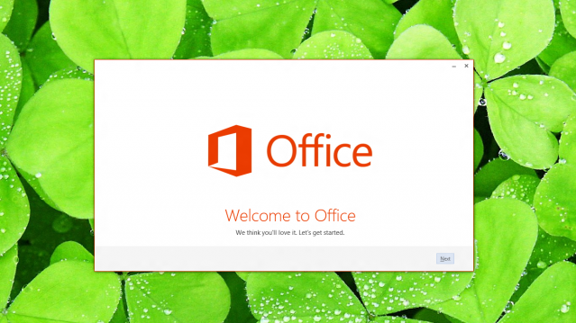 Office 2013 Splash Screen