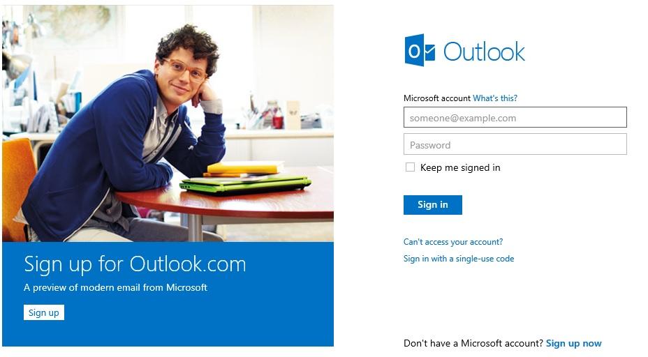 Microsoft's Outlook.com